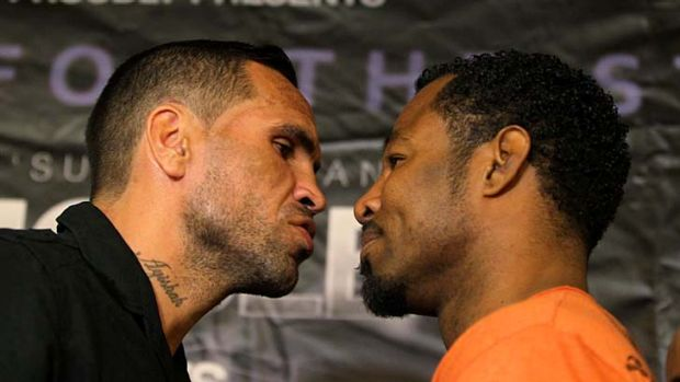 "Anthony Mundine: ""I feel I am cut from the same cloth [as Mosley]""."