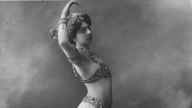 Femme fatale: Mata Hari was the daughter of a Dutch shopkeeper.
