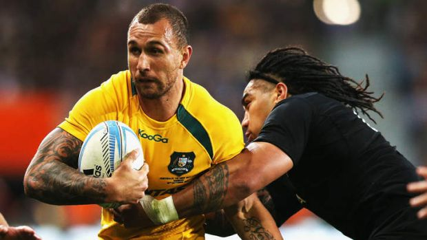 """I know what he's capable of doing"": Wallabies coach Ewen McKenzie on Quade Cooper."