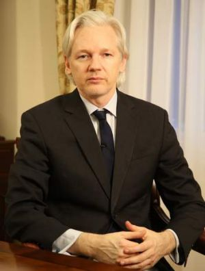Where there's a will ... WikiLeaks founder Julian Assange.
