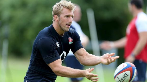 Nervous wait: Chris Robshaw's captaincy job is under threat from Tom Wood.