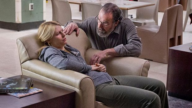 'I'm so sorry Carrie' ... Saul appears to be the bad guy as he puts his agent into a psychiatric facility, or is he?