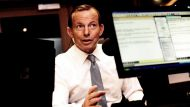 Prime Minister Tony Abbott spoke to Neil Mitchell on 3AW this morning.23RD OCTOBER 2013PHOTO: PENNY STEPHENSTHE AGE