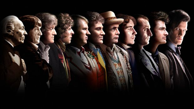 'You never forget your first Doctor' ... tracing back the 11 regenerations of Doctor Who.
