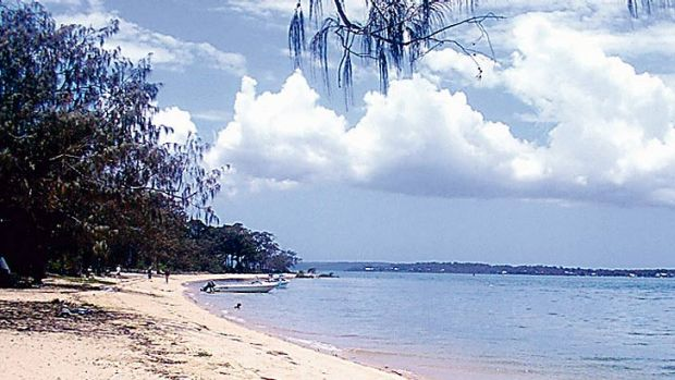 Moreton Bay has been affected by soil run-off.