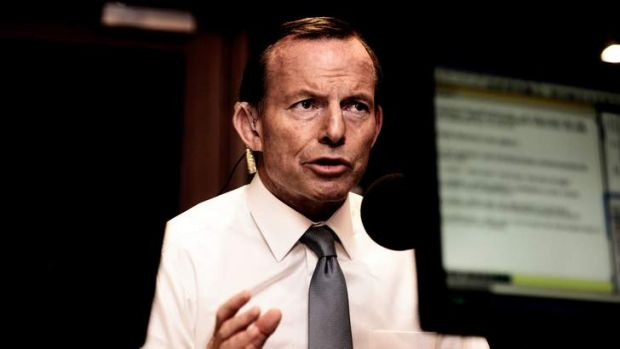 Prime Minister Tony Abbott speaking on 3AW on Wednesday