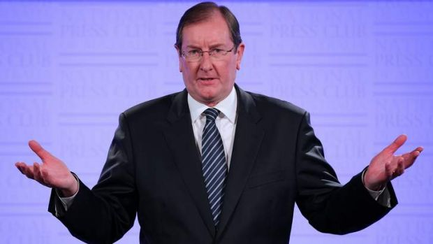 Brian Loughnane, federal director of the Liberal Party, flagged a push for electoral reform in his Press Club address.