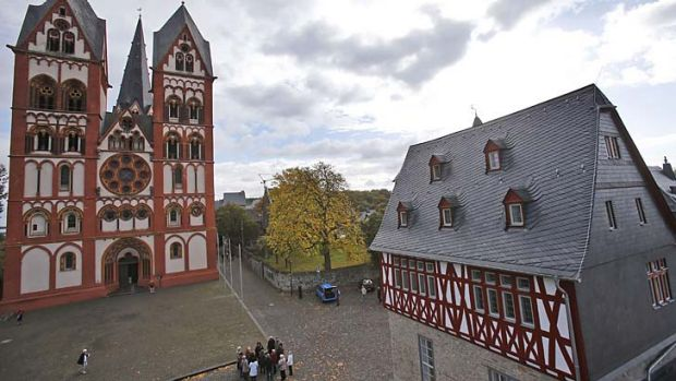 Lavish: Germany. Bishop Tebartz-van Elst is accused of wasting money to refurbish and rebuild the residence, right, for ...