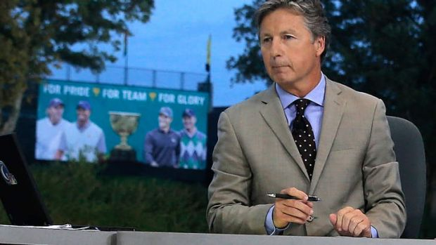 Sorry: Brandel Chamblee of The Golf Channel.
