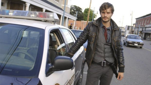 Greater exposure ... Jamie Dornan from <i>Once Upon A Time</i> is set to star in <i>Fifty Shades of Grey</i> films.