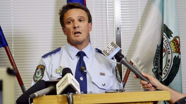 Thoughts go out to his family: Shoalhaven Local Area Command Superintendent Joe Cassar.    jo cassar2.jpg