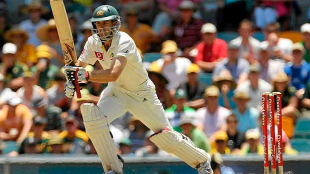 Premature end: Simon Katich played his last Test for Australia during the last home Ashes series.