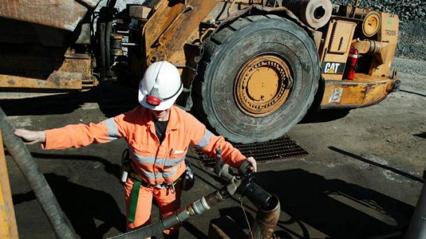 Hard yakka: Falling sales in Pacific Brands' workwear division will put a dent in profits.