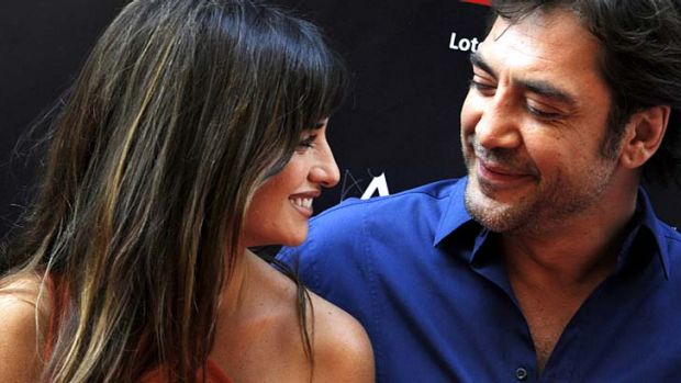 Private lives: Penelope Cruz and husband Javier Bardem.