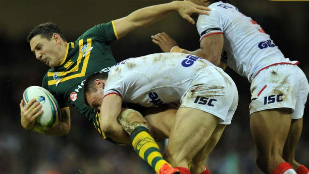 """That first 20 minutes was below par of where we should be"": Billy Slater. Photo: AFP"