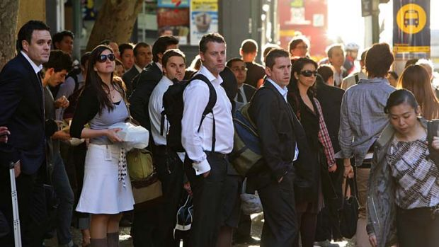 At our limit?: Australia's population is forecast to grow by 2.3 million over the next five years.