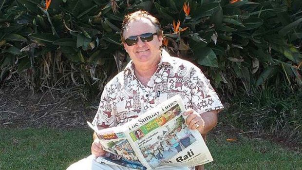 Peter Foster  claimed in October to be living in Fiji.