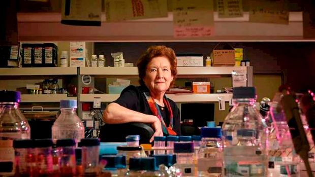 Ruth Bishop has won the Florey Medal for her role in the discovery of the rotavirus.