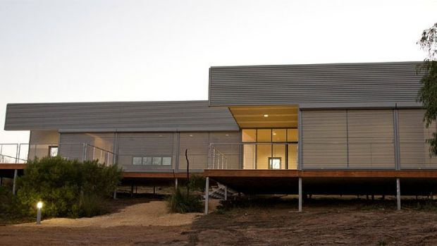 Hollingworth House at Point Henry, Bremer Bay, Western Australia.