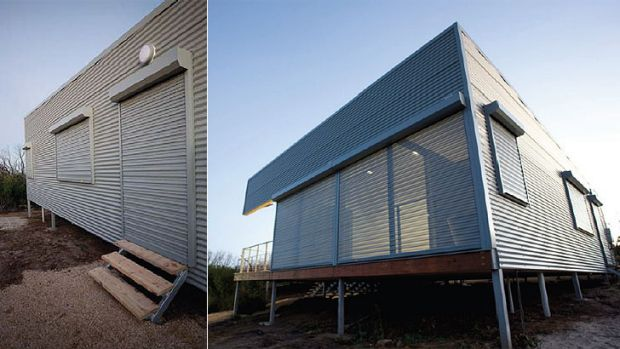 Hollingworth House, south-east WA is an example of bushfire responsive architecture.