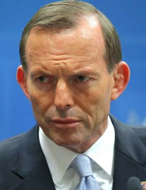 """Urged Labor to """"repent"""" and support the government on repealing the carbon tax: Prime Minister Tony Abbott."""
