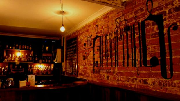 Ezra Pound came on the bar scene in 2009.