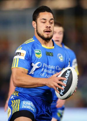 In for the long haul: Jarryd Hayne says he hasn't considered leaving Parramatta despite their struggles.
