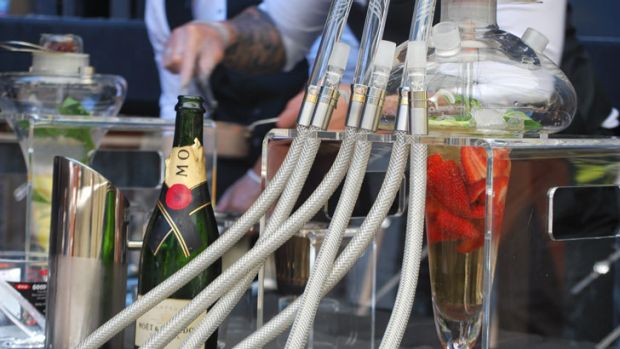 The cocktail shisha comes in four flavours: Playboy (strawberry, apple and mint), Blossom (grapes, grapefruit and mint), ...