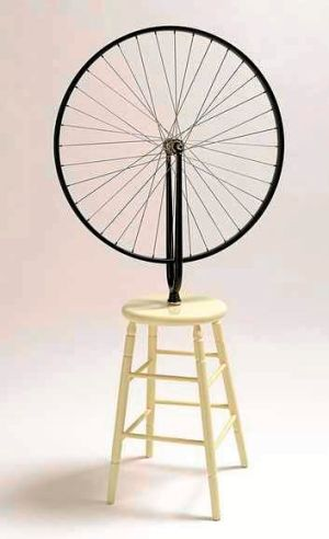 Marcel Duchamp's <i>Bicycle wheel</i>.