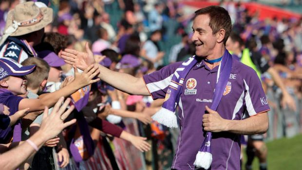 Sage words: the Perth Glory supremo says club owners and the FFA have come to agreement on a range of issues, signalling ...