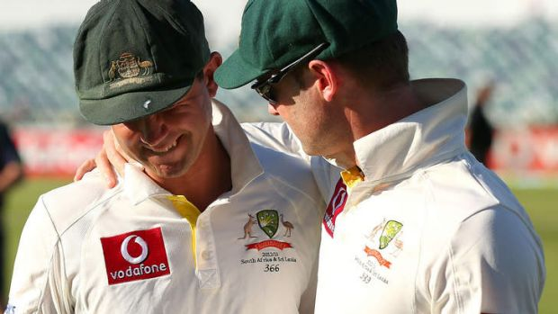 "Ricky Ponting on Michael Clarke: ""We want to both try and move on from where we're at""."