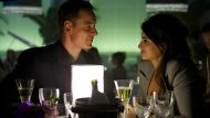 Michael Fassbender and Penelope Cruz in <i>The Counselor</i>.