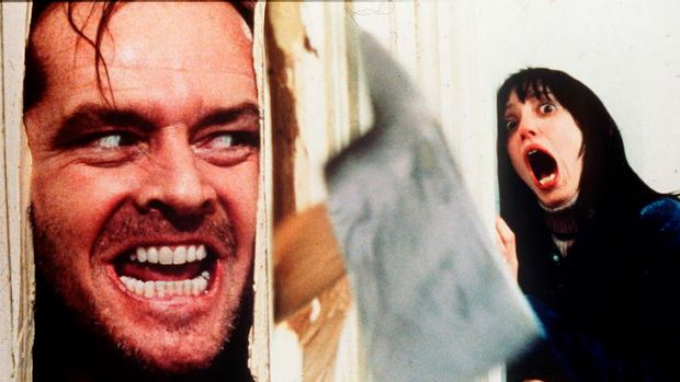 The quality end: Jack Nicholson has a breakthrough in <i>The Shining</i>.