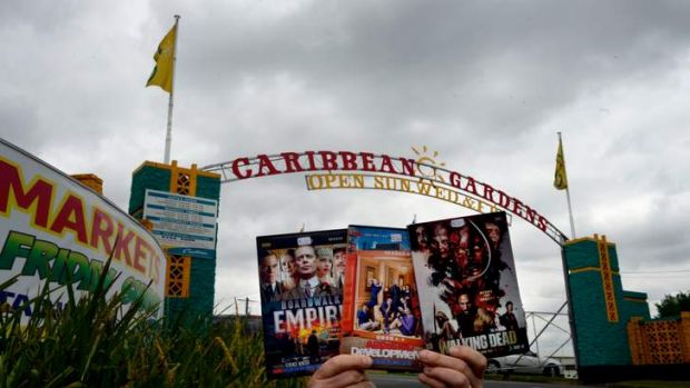 Questionable DVDs are not hard to find at Carribean Gardens in Scoresby, although management denies this.