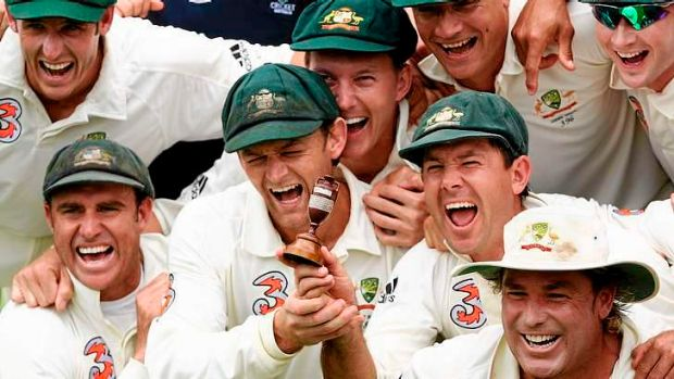Wishful thinking? Ricky Ponting can see a return to the Ashes glory days for Australia.