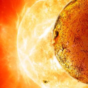 An artist's impression of Kepler-78b.