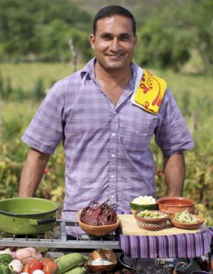One of SBS's many food shows for 2014: <i>Mexican Fiesta with Peter Kuruvita</i>.