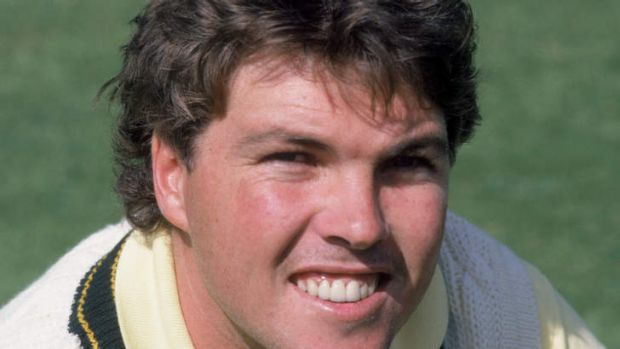 Controversial: Greg Ritchie during his playing days.