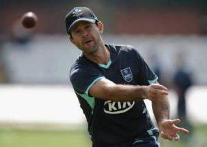 Through to the keeper: Ricky Ponting declined to discuss Michael Clarke's toiletry habits.