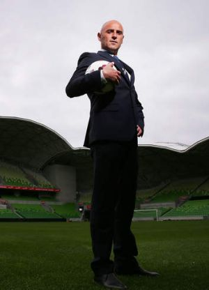 Victory coach Kevin Muscat.