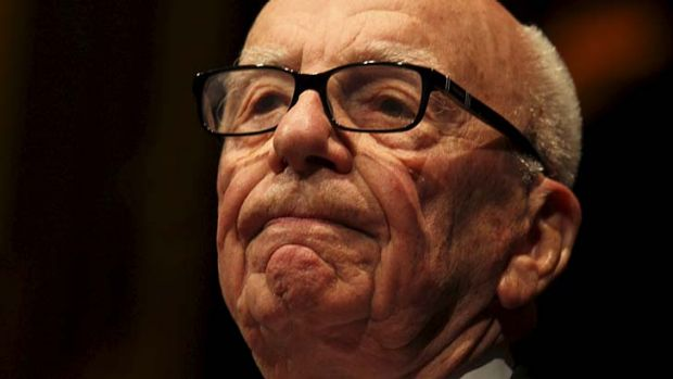 Rupert Murdoch at the 2013 annual Lowy Lecture.