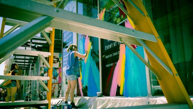 More and more artists are considering shop walls and public spaces as their canvas with more businesses willing to pay ...