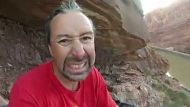 BASE jumper thought he'd lost his leg (Video Thumbnail)