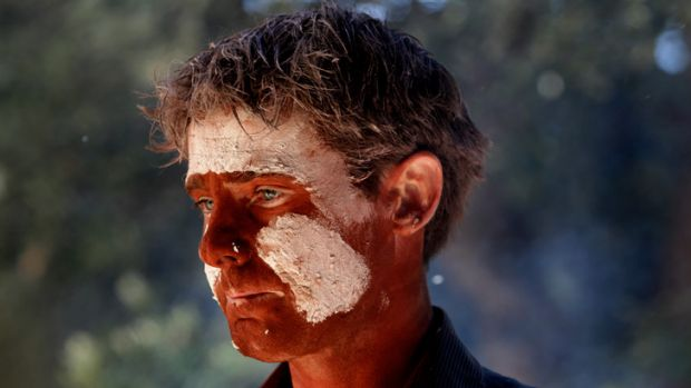 Wadawurrung man Sean Fagan during the ceremony  at Melbourne Museum on Friday.