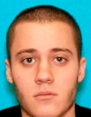 Handout photo provided by the FBI shows LAX shooting suspect Paul Anthony Ciancia.
