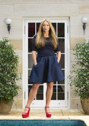 Focusing on family: Collette Dinnigan.