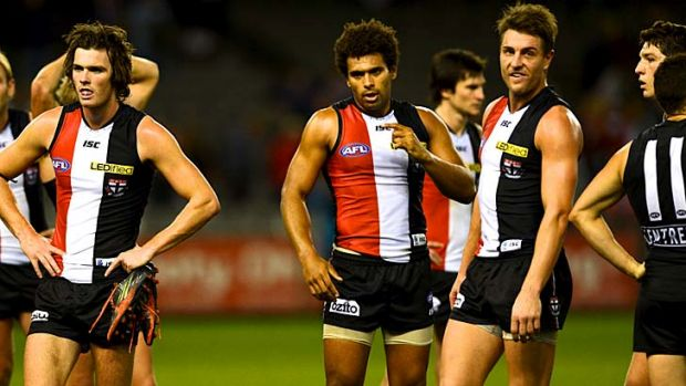 The Saints have released their strategic framework, dubbed St Kilda - the road to 2018, outlining their five-year plan ...