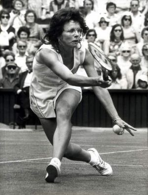 Champion ... Billie Jean King.