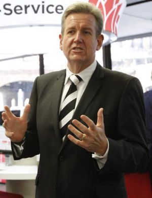 """Our election funding reforms were about cleaning up NSW politics"": Premier Barry O'Farrell."