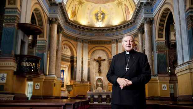 No comment: Archbishop of Sydney, Cardinal George Pell.